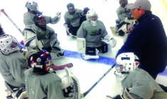 Cree goaltending hopefuls attend hockey camp run by Winnipeg Jets goaltending coach