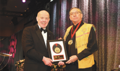 Jim MacLeod's economic and environment leadership honoured with award