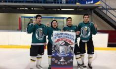 Thunder Eagles claim provincial hockey championship