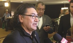 Romeo Saganash petitions Harper government to abide by UN Declaration