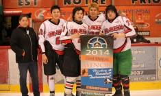 Waskaganish teams dominate CREE hockey tourney