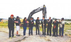 Construction begins on new Mistissini youth centre