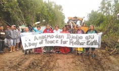 A small Anishinabek community picks a legal fight against a lumber giant