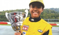 Métis 11-year-old on the right track to auto-racing glory