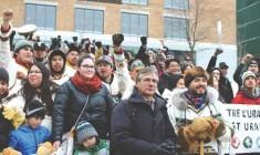 Cree Youth finish 850-km walk against uranium development