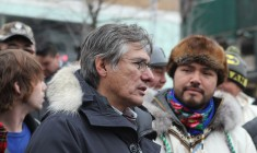 Grand Chief Coon Come addresses pressing issues at public meeting