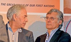 Regional Chief  Ghislain Picard and Grand Chief Matthew Coon Come