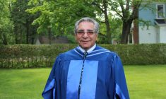 Be the hero of your story – Abel Bosum receives honourary law degree