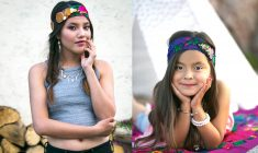 "Headband demand – Dickson Designs has a new twist on grandma's ""hankie"""