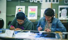 Cree students seeing success through art