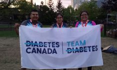 Moses family runs 10k in Ottawa for diabetes