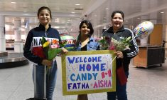 After 12 years in Egypt, daughters come home with their Mistissini mother