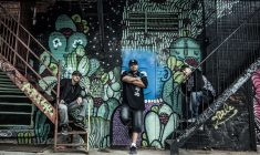 Naskapi hip-hop group Violent Ground hits the big stage in Montreal