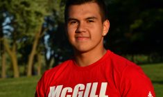 Vincent MacDonald's football journey from the James Bay Eagles to the McGill Redmen