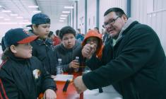 """APTN documentary series Arm Nation focuses on Mistissini """"pullers"""""""