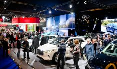 Checking out the latest models at Montreal's annual Auto Show